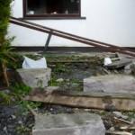Damaged wall, Corrinshigo