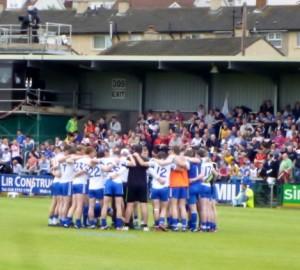 Monaghan huddle
