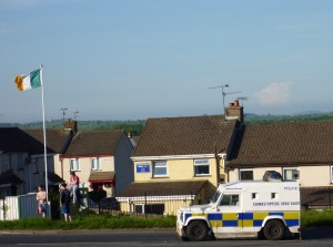 Security alert beside Derrybeg estate