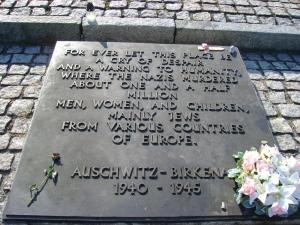 Memorial at Auschwitz