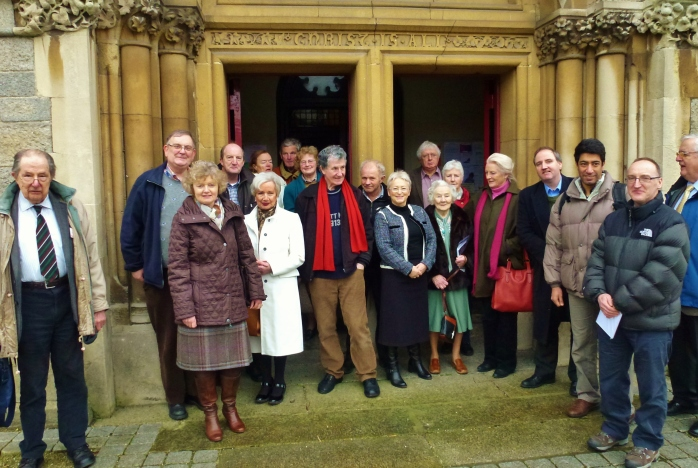 William Carleton Society at Sandford Parish Church