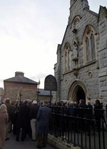 Funeral of Maedhbh Ní Chonmhídhe-Piskorska