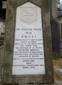 Sir William Wilde grave
