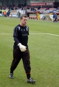 Neil Sullivan AFCW goalkeeper