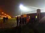 Coleraine fans at Tallaght
