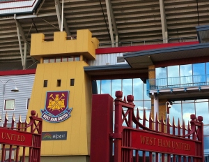 West Ham FC Entrance