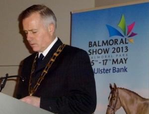RUAS President John Bamber