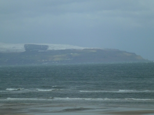 View from near Castlerock across towards Shrove, Moville, Inishowen