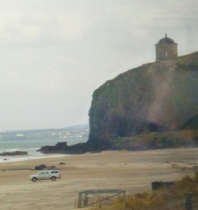 Mussenden Temple, Benone Strand