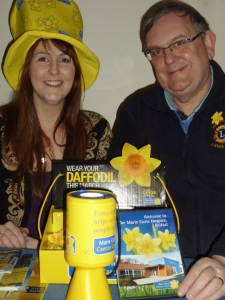 Grace Smyth & Michael Fisher, Belfast Lions Club