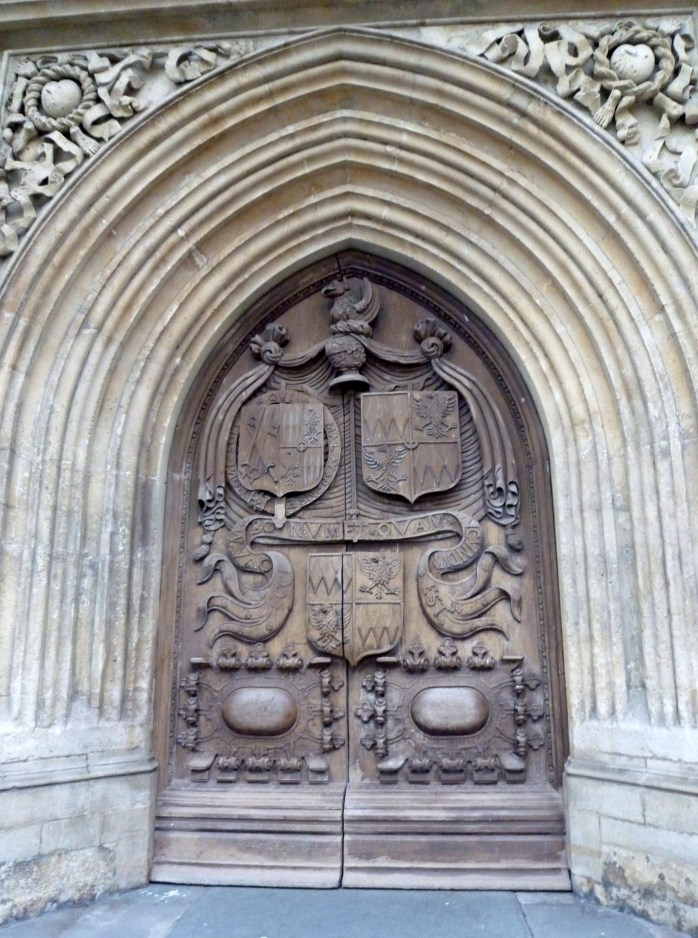 Bath Abbey entrance