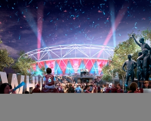 New Stadium: Copyright © LLDC