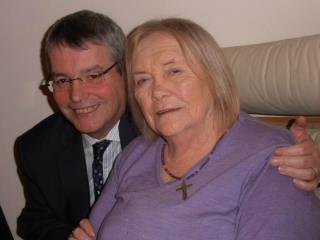Barry McCall & Rosaline Kelly at her 90th birthday