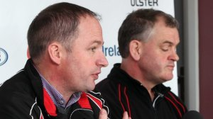 David Humphreys & Brian McLaughlin news conference (BBC Sport)