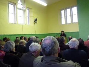 Talk by Patsy Brady at Cornagilta