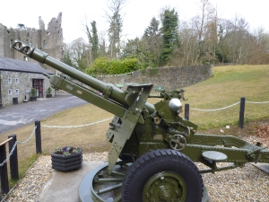 Irish Army 25-pounder Gun