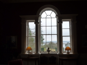 Drawing Room overlooking lake