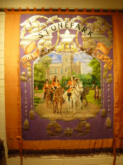 Stonepark Co.Cavan Orange Lodge Banner