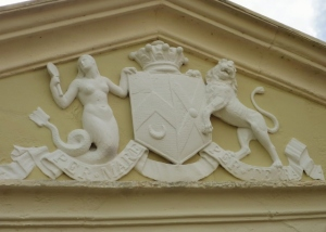 Pediment Relief: Coat of Arms