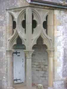 Entrance to Cornagilta School