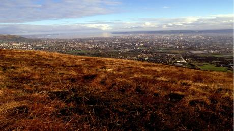 View from Black Mountain: Photo © National Trust