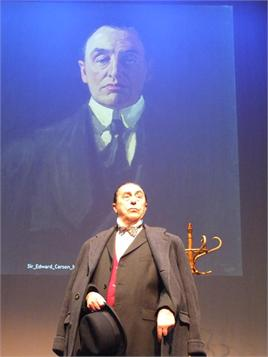 Patrick Scully as Edward Carson