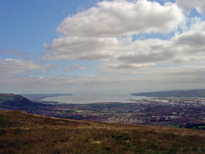 View from Divis Mountain: Belfast Hills Partnership