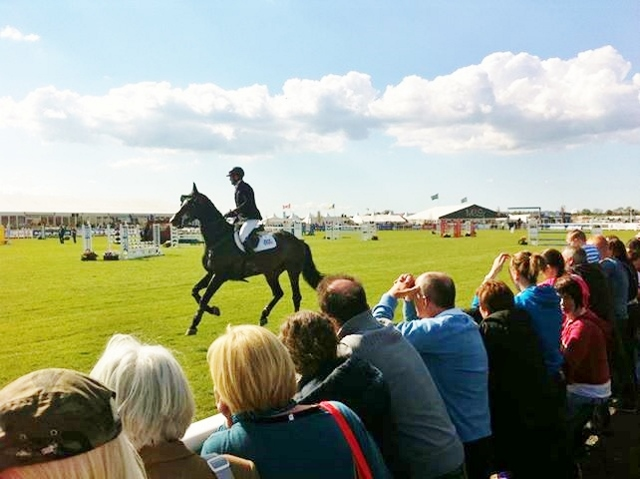 Closing stages of Balmoral Show 2013
