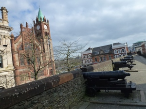 Derry's Walls at the Guildhall