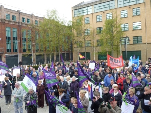 May Day Rally, Belfast