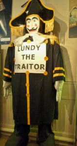 Governor Lundy Effigy
