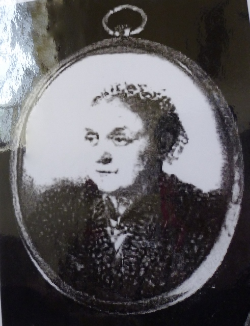Brooch Picture of Gertrude Rose: Created by artist Kathleen Rashleigh. Image courtesy of Dreweatts Auctions, England