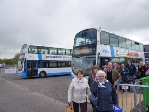 Translink shuttle bus service from Lisburn