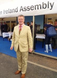 Ulster Unionist Leader Mike Nesbitt MLA