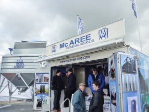 McAree Engineering, Ballinode, stand at Balmoral Show