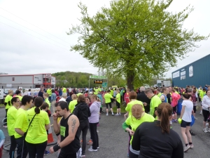 Runners gather at Gortakeegan