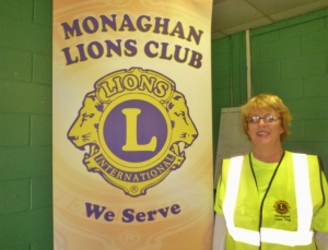 Lorna Wilson, Past President Monaghan Lions Club