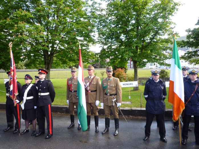 Parading the Colours: Ireland with UK and Hungary