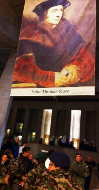 St Thomas More: St Pius X Basilica Lourdes