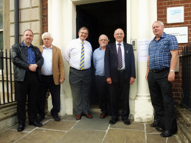 William Carleton Society committee members at Irish Writers' Centre, Dublin