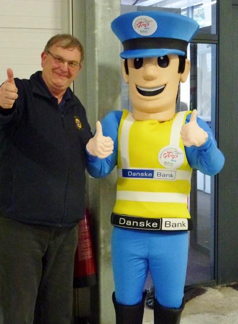 With WPFG mascot Emergency Eddie