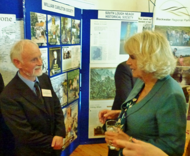 William Carleton Society Patron Sam Craig & Duchess of Cornwall