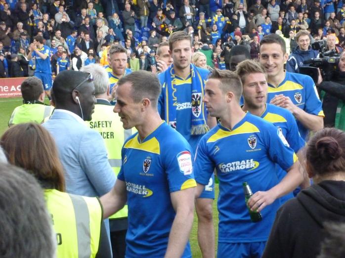 Final match win v Fleetwood assures League status