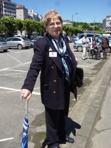 Former St Louis Monaghan pupil Carmel Power (McGinty), JWT travel rep in Lourdes