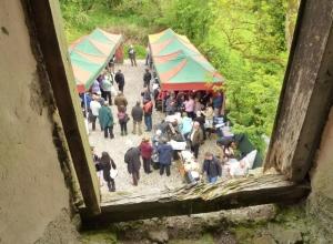 Barbeque at Ennish Mill