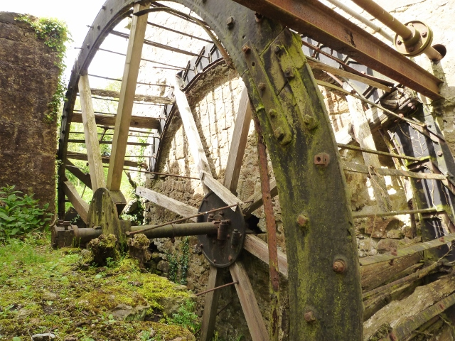 Mill Wheel at Ennish