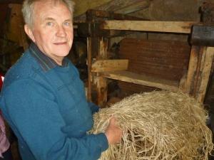 Howard Bennett at Ennish Scutch Mill
