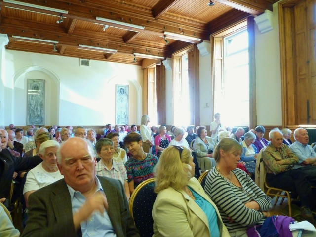 Audience at Irish Catholic conference