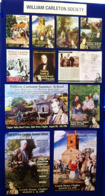 William Carleton Society display