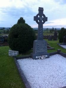 Grave of Mary McKenna, Kilrudden House